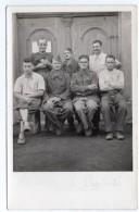 CPA  PHOTO   STALAG IV G---SACHSEN---ALLEMAGNE---GROUPE DE PRISONNIERS - Guerre 1939-45