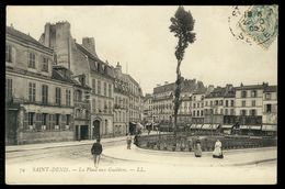 Saint-Denis - La Place Aux Gueldres - Saint Denis