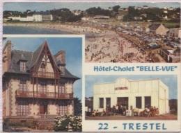 CPM - TREVOU TRESTEL - HOTEL CHALET BELLE VUE - Edition Jack - Frankrijk