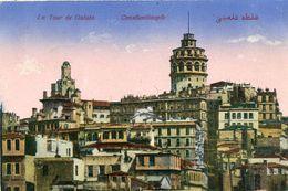 Turquie Constantinople La Tour De Galata - Turchia