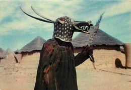 AFRIQUE - Masques Africains,pays Divers,guinée,cameroun,haute Volta,côte D'ivoire, Lot De 8 Cartes. - Postcards