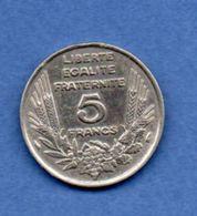 Bazor  -  5 Francs 1933   --  état  TB - France