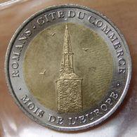 France 10 Euros 1998 Bimétallique  Ville De Romans Cité Du Commerce - Euros Of The Cities