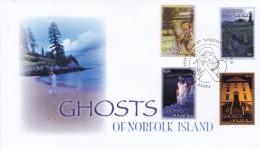 NORFOLK ISLAND 2007 Ghosts FDC - Ile Norfolk