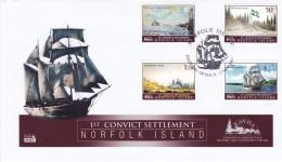 NORFOLK ISLAND 2007 Convict Settlement FDC - Norfolk Island