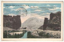 Castle Gate, Utah, On Line Of D. E. G. R. R. - 1920 - Autres