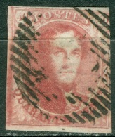 Belgique   5   Ob  Voir Scan Et Description - 1849-1850 Médaillons (3/5)