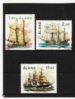 AUA526 ALANDINSELN 1988 Michl 26/30 Gestempelt / Entwertet  ZÄHNUNG Und STEMPEL SIEHE ABBILDUNG - Ålandinseln