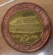 France 2 EURO DE COLMAR 1998 Cercle Numismatique - Euros Of The Cities