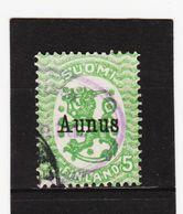 AUA528 FINNISCHE BESETZUNG AUNUS 1919 Michl 1 Gestempelt / Entwertet  ZÄHNUNG Und STEMPEL SIEHE ABBILDUNG - Finlandia