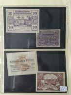4 Notgeld Heller Vari Valori 1920  N. 65 - Austria