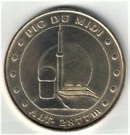 Monnaie De Paris 65.La Mongie - Pic Du Midi 2007 - 2007