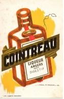 Buvard COINTREAU Illustré Par A Mercier - Liqueur & Bière