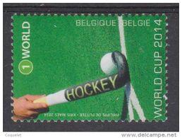 BE 2014  - N° 4421 XX  Le Hockey Belge à La Coupe Du Monde à La Haye - Belgique