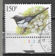 8Nz-983: N° 2697 : Ekster Met Plaatnummer 2 - 1985-.. Birds (Buzin)