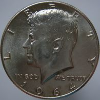 USA United States 1/2 Dollar 1964 UNC - Silver - Federal Issues
