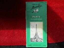 """Paris Et Sa Proche Banlieue """"Guide Du Pneu Michelin"""" - Michelin (guides)"""