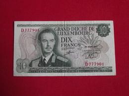 Luxembourg Grand-Duché - 10 Francs 1967 Pick 53 - Ttb ! (CLVG189) - Lithuania