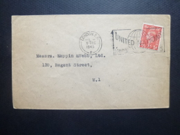 GREAT BRITAIN [GB] POSTMARK UNITED NATIONS LONDON 1945 - Postmark Collection