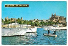 MALLORCA - Palma, Puerto - Ciutat, Port - N° 10.011/A - 1972 - Palma De Mallorca