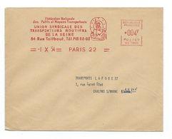 Union Syndicale Des Transporteurs Routiers - Etat Superbe - Marcophilie (Lettres)