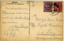 POSTKARTE  Walhalla - Germania