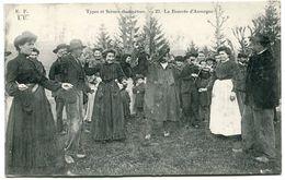 Types Et Scènes Champêtres - La Bourrée  - Editeur Eyboulet Frères à Ussel - Voir Scan - France