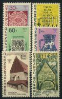 TCHECOSLOVAQUIE ( POSTE ) : Y&T  N°  1569/1574  TIMBRES  NEUFS  SANS  TRACE  DE  CHARNIERE , A  VOIR . - Czechoslovakia