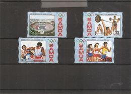 JO De LosAngelès-1984 ( 565/568 XXX -MNH- Des Samoa) - Summer 1984: Los Angeles