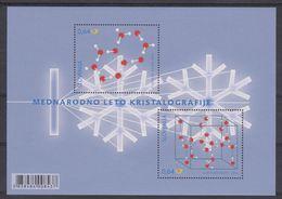 ES 2014  - BL 73 XX  - Année Internationale De La Cristallographie - Bélgica