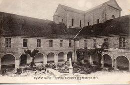 39. Ougney. Intérieur Du Cloître De L'abbaye D'acey - Altri Comuni