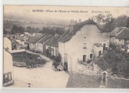 MORRE          PLACE DE L ECOLE ET VIEILLE ROUTE - France