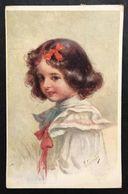 Bambina  VIAGGIATA Primi 900 COD.C.1982 - Scene & Paesaggi
