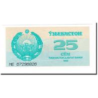 Billet, Uzbekistan, 25 Sum, 1992 (1993), KM:65a, NEUF - Ouzbékistan