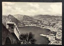 Lugano Funicolare Monte Brè   VIAGGIATA 1961 COD.C.1984 - LU Lucerne