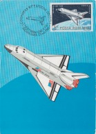 Kunstler, Illustrateur - Romania - Space Shuttle, Space Industry - COSMOFILA 1983 - Exhibition - USA -Maximaphily, Stamp - Space