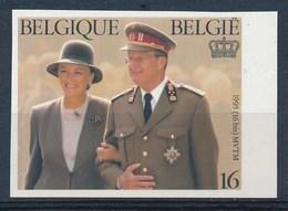 BELGIE - OBP Nr 2621 - ONGETAND/NON-DENTELE - Albert & Paola - MNH**  - Cote 60,00 € - Belgique