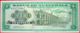 √ RARE: GUATEMALA ★ 1 QUETZAL 1968 UNC CRISP! LOW START ★ NO RESERVE! - Guatemala