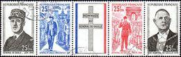 Réunion Obl. N° 403 A - Anniversaire De La Mort Du Général DE GAULLE - Réunion (1852-1975)