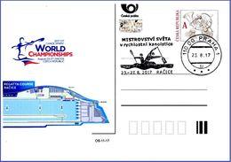 Czech Republic (17-11) World Championship Canoe Sprint 2017 Prague  - Postcard - Kano