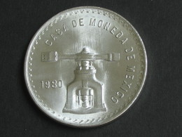 MEXIQUE - Casa De Moneda De Mexico 1980 - Una Onza Troy De Plata Pura **** EN ACHAT IMMEDIAT **** - Mexico