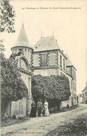 SAINT AUBIN DE LANQUAIS - Château. - Frankreich