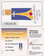 480/ Monaco; XII Journées Mondiales De La Jeunesse Paris 1997 - Monaco