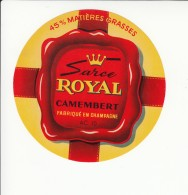 Etiquette De Fromage Camembert - Sarce Royal - Aube. - Fromage