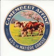 Etiquette De Fromage Camembert - Guillerit - Valognes - Manche. - Cheese