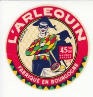 Etiquette De Fromage - L'Arlequin - Côte D'Or. - Cheese