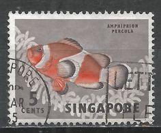 Singapore 1962. Scott #55 (U) Anemone Fish * - Singapour (1959-...)