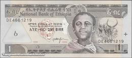 TWN - ETHIOPIA 46c - 1 Birr 2003 Prefix DE UNC - Ethiopie