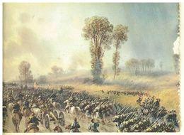 CARTOLINA - CARLO BOSSOLI - 30 MAGGIO 1859 MARCIA SOPRA PALESTRO  - II SCELTA - Pittura & Quadri