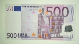 EURO-TALY 500 EURO (S) J001 Sign DUISENBERG. Reduced Price. - EURO